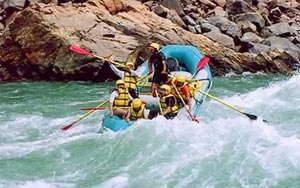 White Water River Rafting in India