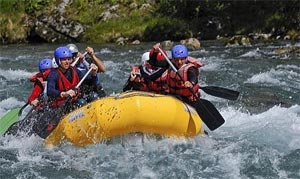White Water River Rafting In Mongolia