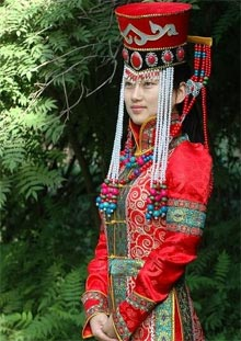 Traditional Mongolian In Wedding