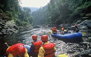 River Rafting In Myanmar