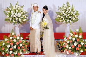 Traditional Wedding In Myanmar