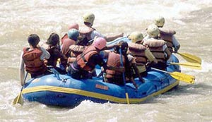 Arun River White Water Rafting Nepal