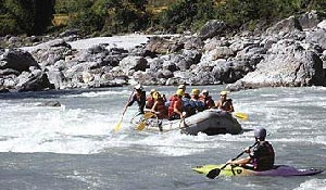 Bhote Koshi White Water River Rafting Nepal