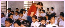 Teaching English Local School in Nepal