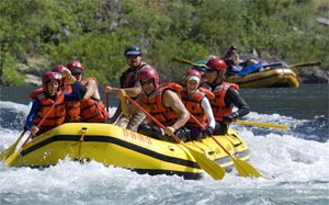 River Rafting in Pakistan
