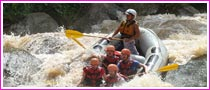 White Water River Rafting In Thailand