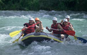 White Water River Rafting In Vietnam